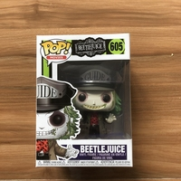 Exclusive Funko pop Official Horror: Beetlejuice Hat Vinyl Beetle juice Action Figure Collectible Model Toy with Original Box