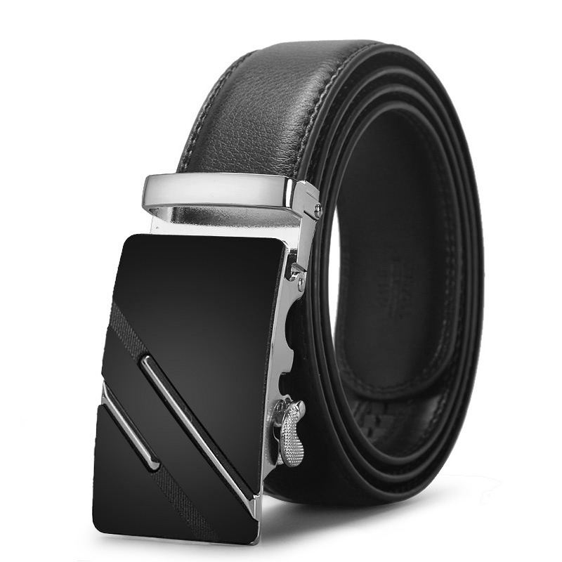 New Arrival Genuine Leather   Belts   For Men Automatic Male   Belts