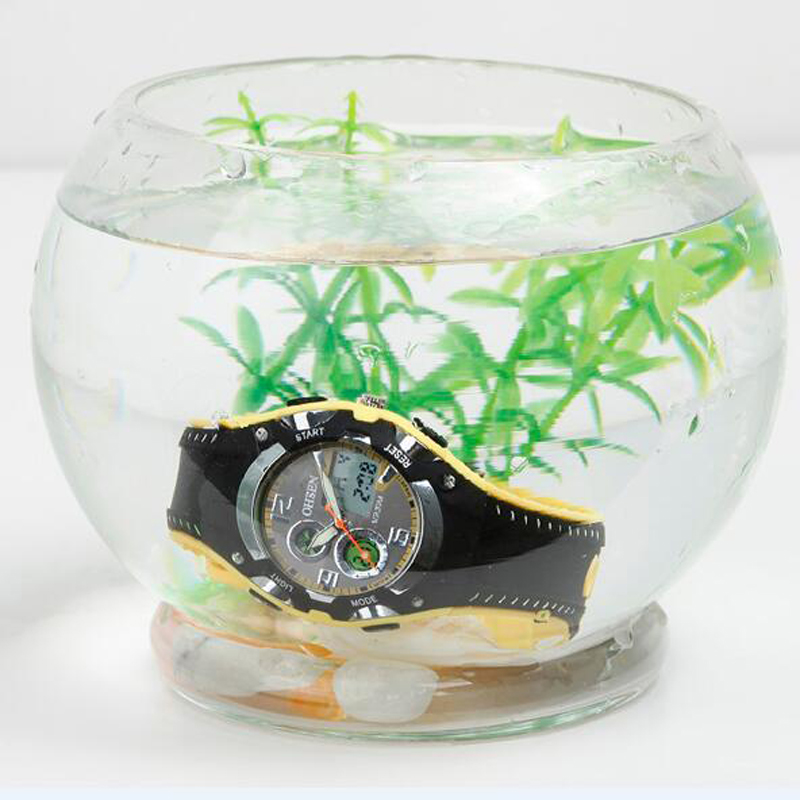 OHSEN Marca de Moda Reloj de Goma Hombres Deporte Impermeable 30 M - Relojes para hombres - foto 6