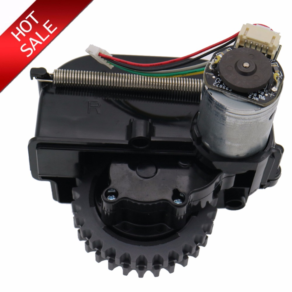 Original right wheel robot vacuum cleaner Parts accessories for ilife V3+ V5 V3 X5 V5s robot Vacuum Cleaner wheels motors