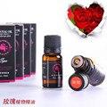 1 UNIDS rosa unilateral de plantas naturales aceites esenciales de belleza cuidado de la piel SPA masaje de aceites esenciales de aromaterapia Humidificador versátil