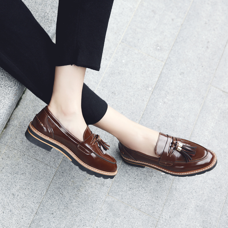 Loafers Casual Fringe Oxford Shoes