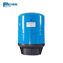 Tanque de pressão vertical do sistema de filtro de água com base composta, capacidade de 11 galões, cor azul
