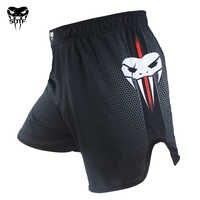 El nuevo entrenamiento Muay Thai ejercicio de lucha de combate Pantalones deportivos Tigre Muay Thai ropa de boxeo pantalones cortos mma pretorian boxeo