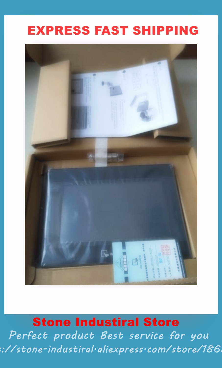New MT6071IP MT6071 7 Original HMI NEW with 800X480 TFT LCD Touch Panel COM RS485 replace MT6070iH MT6070iH5
