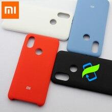 Xiaomi mi 最大 3 ケース液状シリコーン保護バックカバー xiaomi mi 9 t プロ 8 lite 10 Max3 A2 6X redmi K20 バックスリム高級ケース