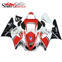 Fairings For Yamaha YZF R1 R1 00 01 2000 2001 Injection ABS Plastic Motorcycle Full Fairing Kit Body Frame FAAC Red White Carene