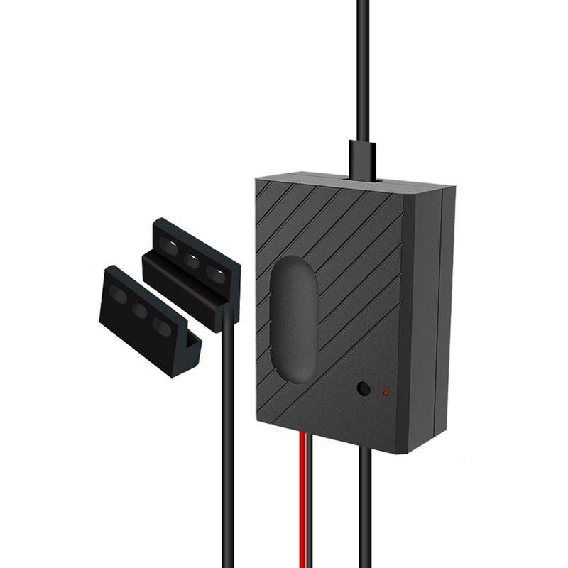 Tüketici Elektroniği'ten Ev Otomasyonu Modülleri'de Wifi Anahtarı Ewelink Garaj Kapısı Denetleyicisi Için Araba Garaj Kapısı Açacağı App Uzaktan Kumanda Zamanlama Ses Kontrolü Alexa gitmek title=