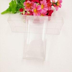 Image 5 - 50 個 2 xWxH Pvc ボックス明確な透明なプラスチックの箱収納ジュエリーギフトボックスの結婚式/クリスマス/キャンディ/ パーティーのためのギフト包装ボックス