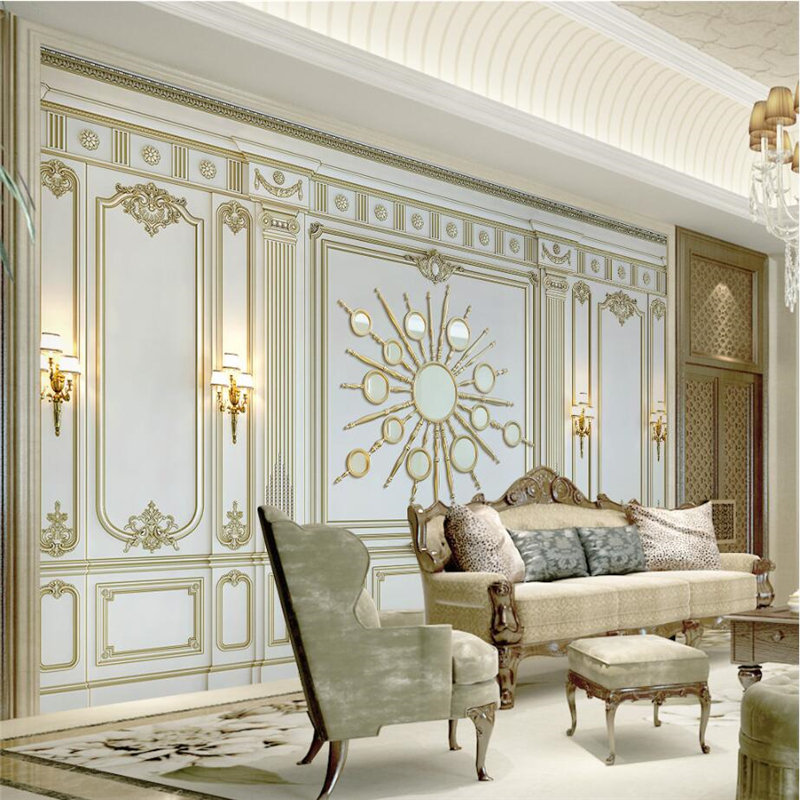 Beibehang Custom Wallpapers Classical European Style 3d