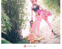 Hot koop Game Anime Koning van Glorie Sunshangxiang Night Party Cosplay Kostuums Roze Vrouwen Chinese Kleding O
