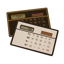 Portable Mini Calculator Solar Pocket Calculator Scientific Calculator Multifunction Calculators Office Stationery Random Color
