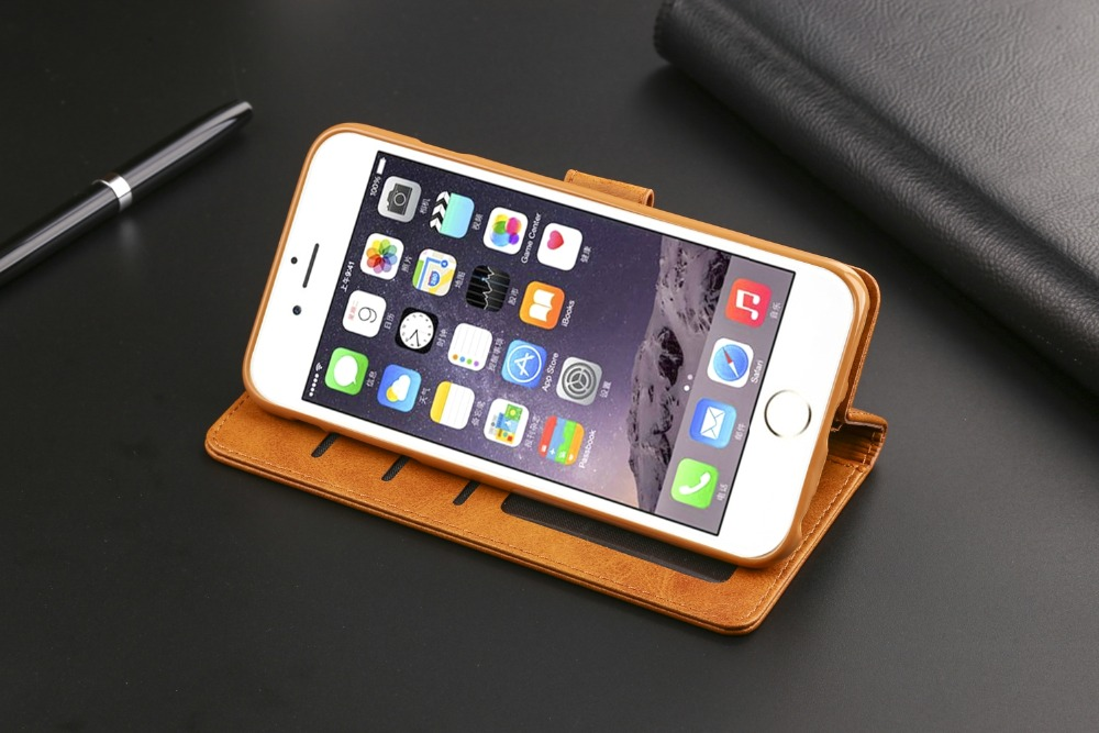 Luxury Leather Case For iPhone 6 6s Plus