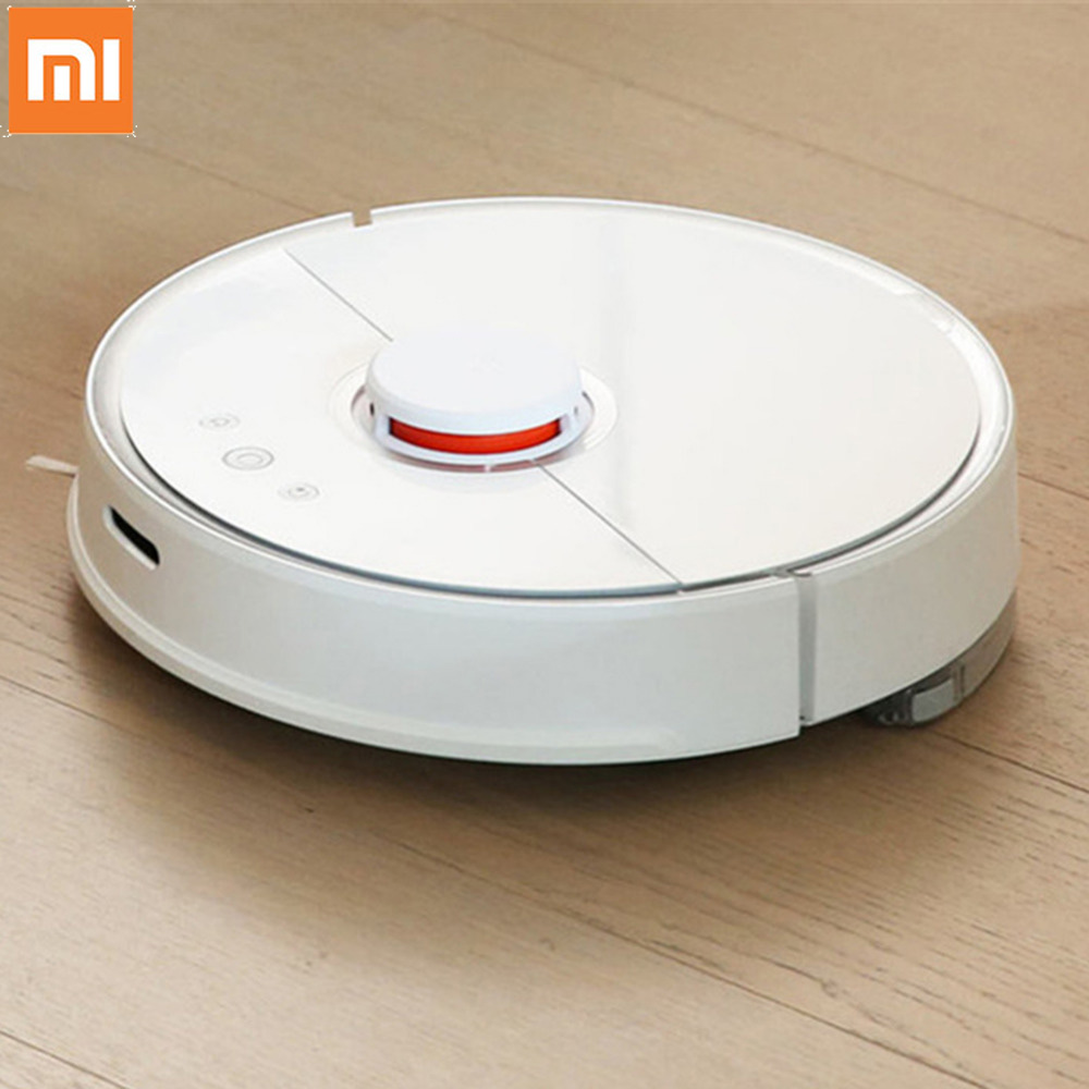 Xiaomi S50 Robot Vacuum Cleaner 1st/2nd Automatic Vaccum Cleaner Sweeping Dust Sterilize Cleaning Washing Mopping Smart Planned 2018 roborock s50 xiaomi mi robot vacuum cleaner 2 for home automatic sweeping dust sterilize smart planned washing mopping