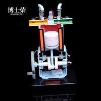 Gasoline engine model junior high physics experiment equipment four stroke internal combustion engine model