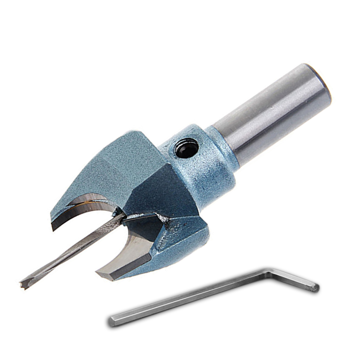 DWZ New 10mm*6mm Buddha Beads Ball Drill Tool Solid Carbide Woodworking Router Bit