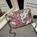 Brand New Ladies Bling Bling Laser Chanis Bag Woman Geometry Diamond Lattice Sequins Check Shoulder Messange Handbags