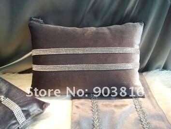 Ferr shipping 2012 Hot  Flanne CushionRectangle pillow Designs35x45cm