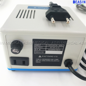 Image 4 - Dental Lab MARATHON Micromotor Machine N3 + 35K RPM SDE H37L1 Polijsten Handstuk Saeyang