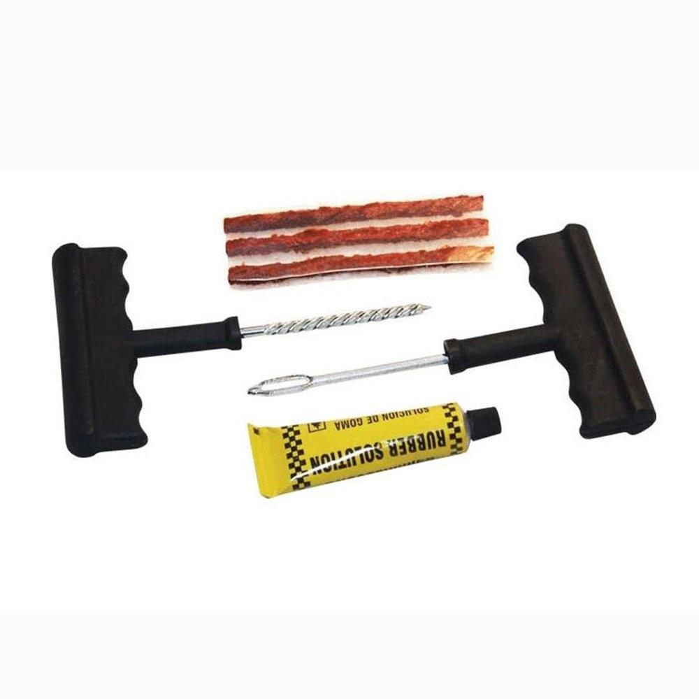 6Pcs Car Repair Tools Kit Auto Bike Tubeless Tire Tyre Repair Kit Puncture Plug Hand Tools Car Accessories