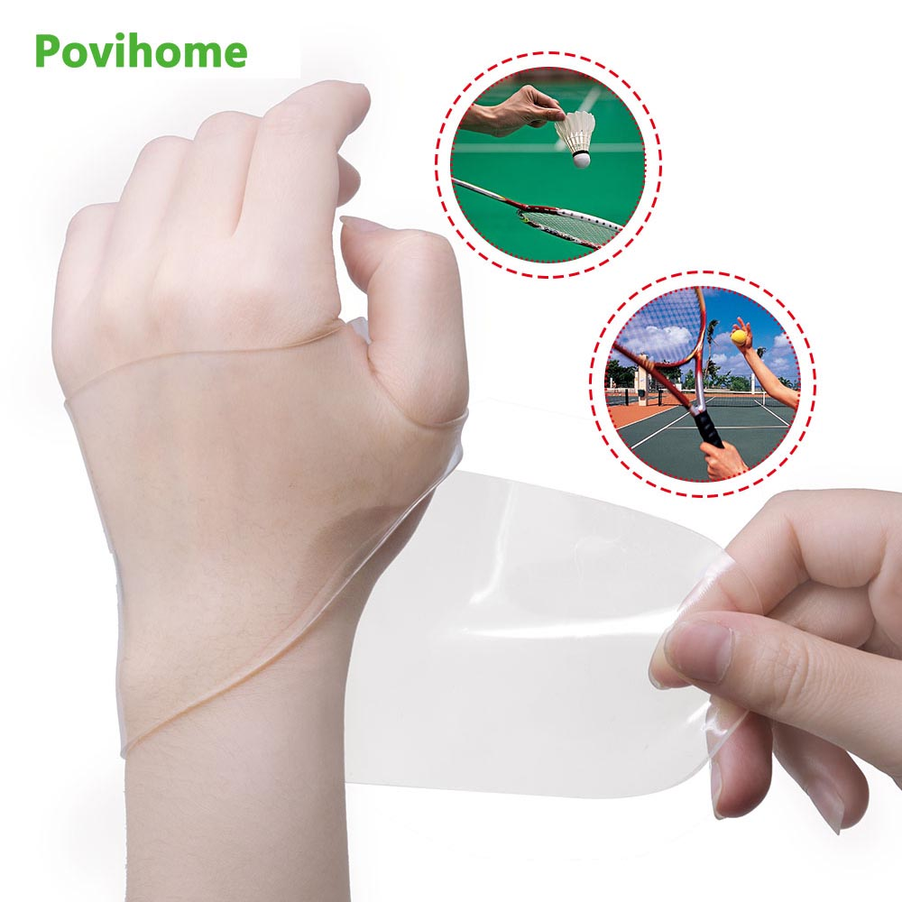 Povihome 2Pcs Wrist Support Sleeves Prevent Pain & Numbness on Thumb Joint Release Wrist Protector C1500