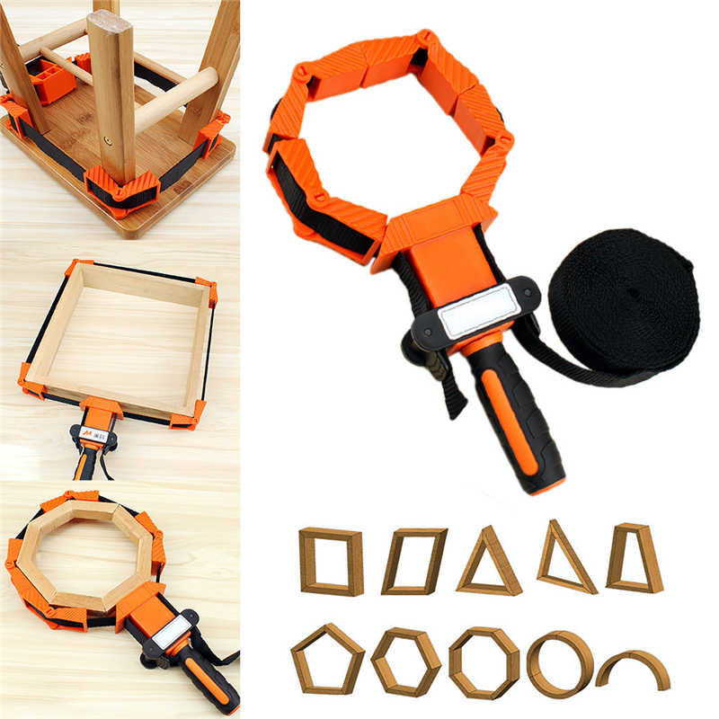 Nylon Multi-Function Binding Belt Clamp Right Polygons Angle Clip Frame Clips Tool Parts Narzedzia Warsztatowe Makita Parts