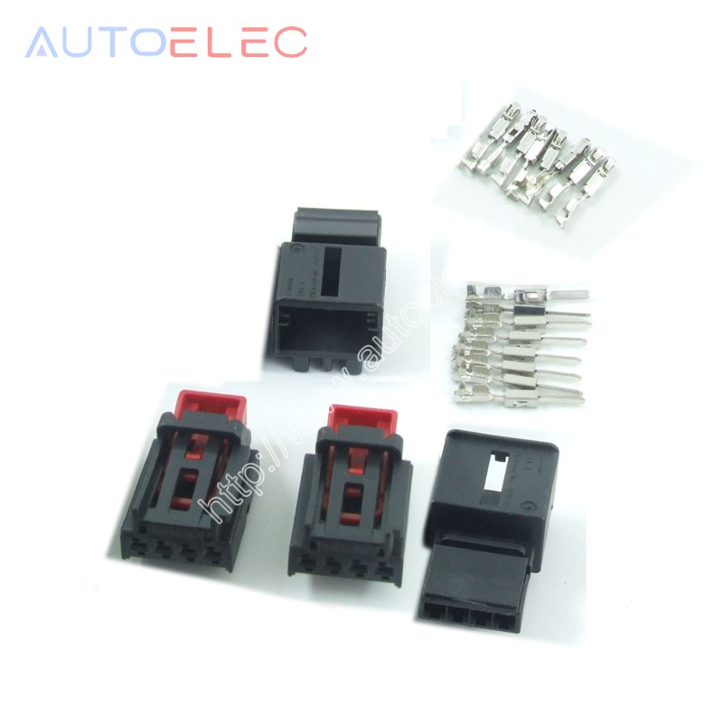 2kits female 7N0972704 and 2kits 3AA972714 male plug Car Taillight Chair connector for ar Tail lamp Volkswagen MAGOTAN golf цена