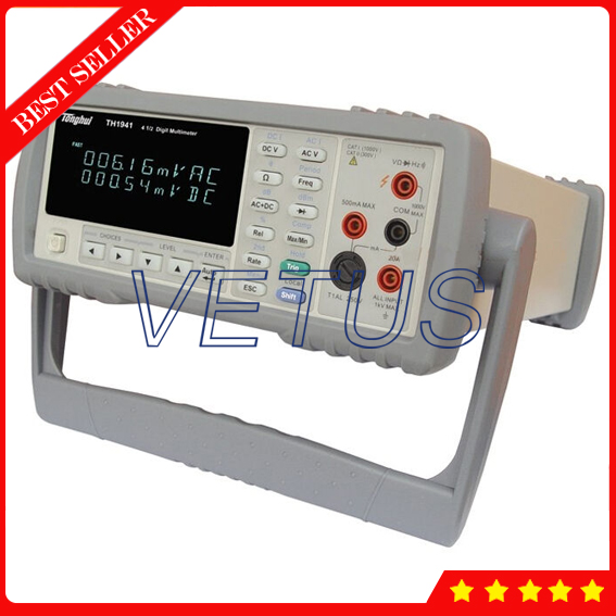 TH1941 bench type 21000 count VFD dual-display Digital Multimeter Brands of High brightness