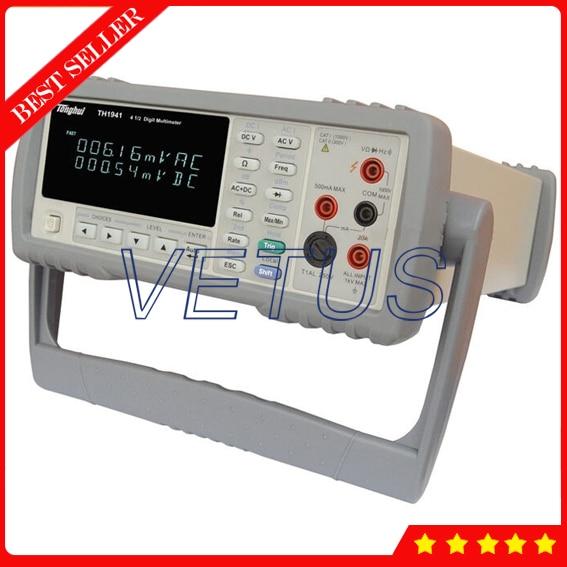 TH1941 bench type 21000 count VFD dual-display Digital Multimeter Brands of High brightness