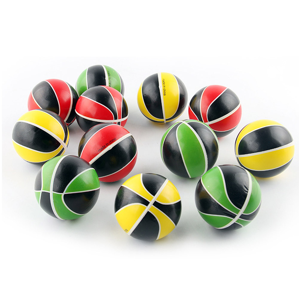 2017 candy color Solid Pressure Fast Rebound Stress Reliever Ball Fun Relieve Stress Cure Toy B# dropshipng