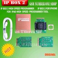 Ipbox IP BOX3 ip de alta para o telefone pad disco rígido programmers4s 5 5c 5S 6 6 mais ferramentas de atualização de memória 16g to128gb