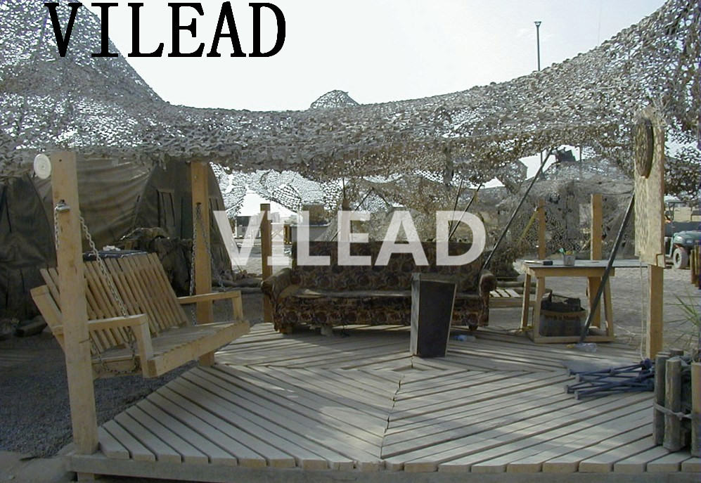 VILEAD Military Camo Netting 5M*5M Desert Camo Netting Army Camouflage Jungle Net Shelter  for Hunting Camping Sports Car Tent
