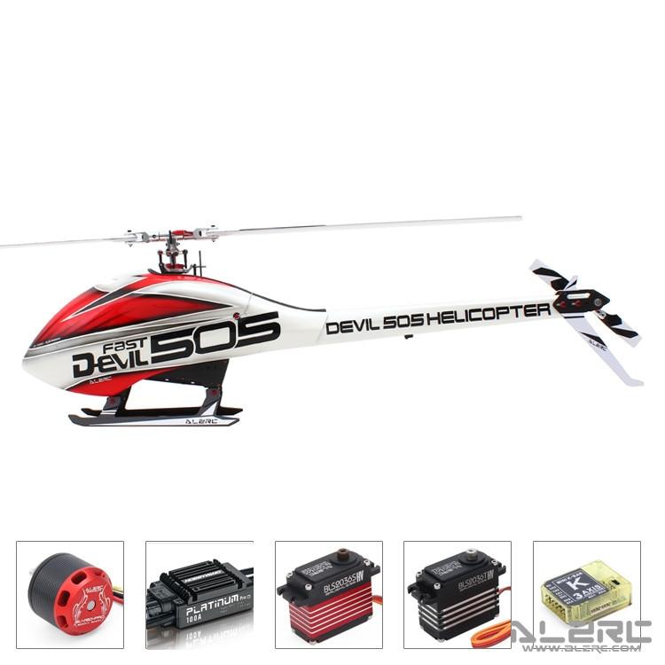 ALZRC дьявол 505 вертолет быстро FBL супер комбо 120A V4 ESC