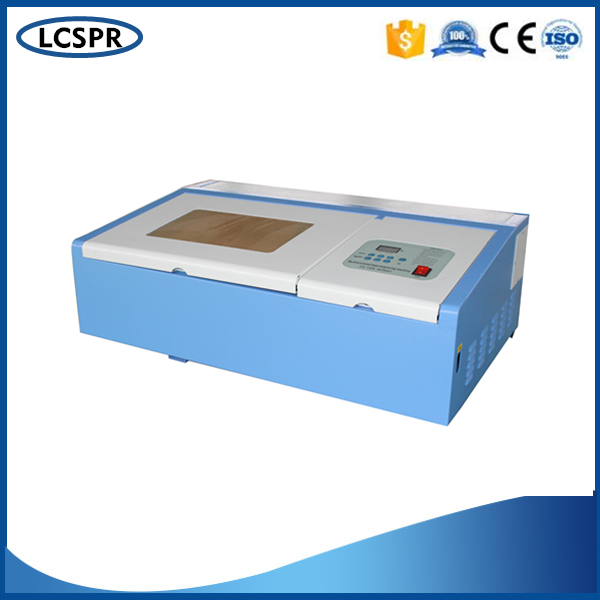 SP-320 Playwood Laser Engraving And Cutting Machine With 50W CO2 Laser Tube