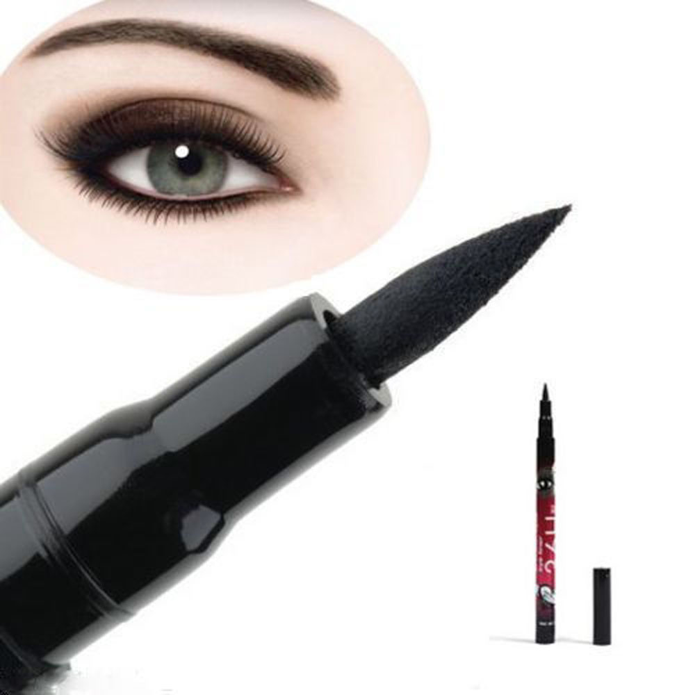 ColorWomen Black Eyeliner Waterproof Liquid Make Up Beauty Comestic Eye Liner Pen 160808 Drop Shipping S28 HW free shipping 3 pp eyeliner liquid empty pipe pointed thin liquid eyeliner colour makeup tools lfrosted purple