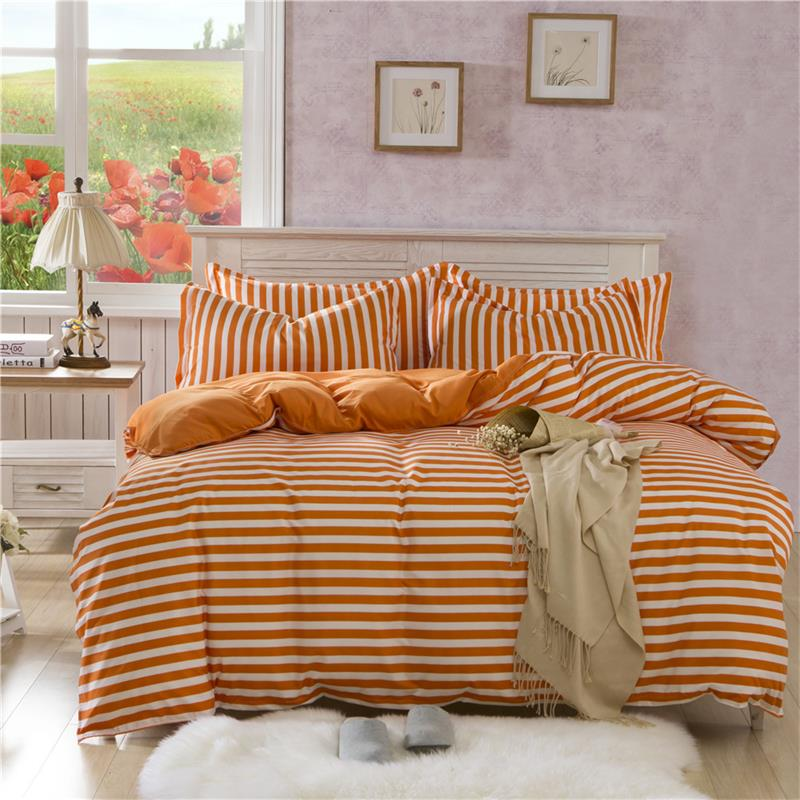 2017 new polyster cotton bed bedding set 4pcs bed cover for New duvet covers 2017