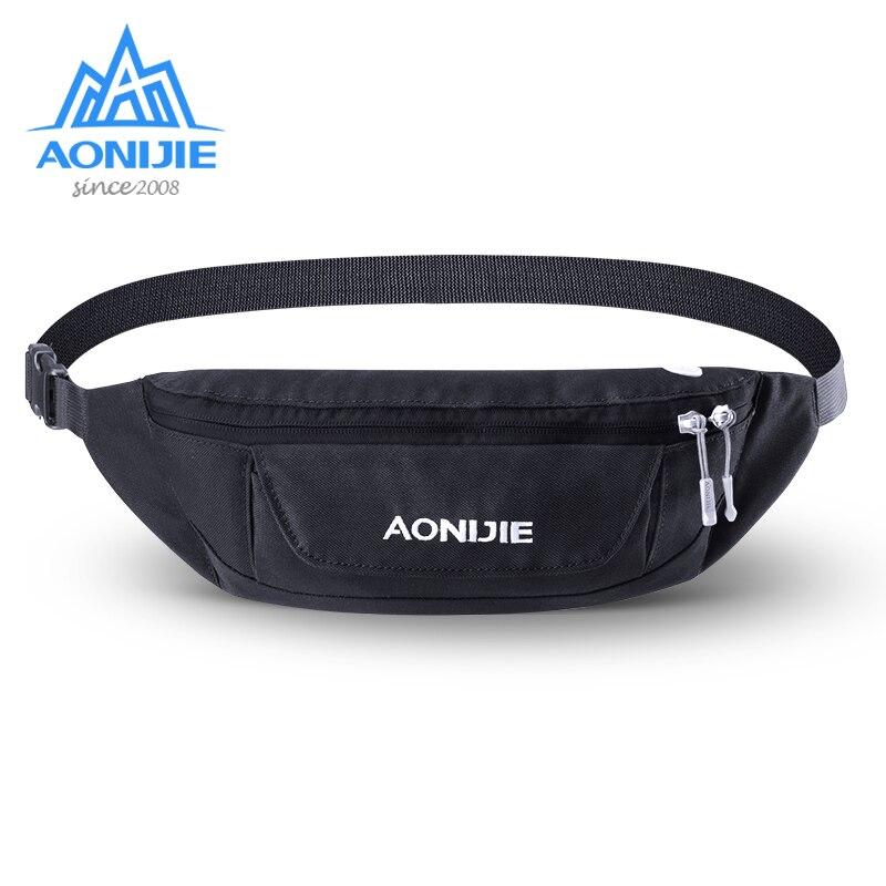 AONIJIE W920 Adjustable Running Belt Waist Bag Fanny Pack Travel Pocket Key Wallet Pouch Cell Phone Holder Carrier
