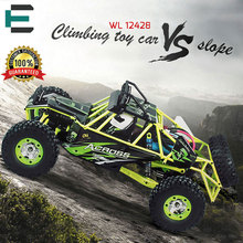 RC Car WLtoys 12428 4WD 1/12 2.4G 50km/h High Speed Monster Truck Radio Control RC Buggy Off-Road RTR Updated Version for child
