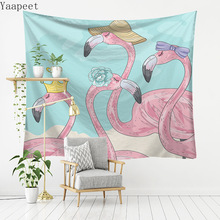 Flamingo Series Selling Cool Hanging Beach Towel Sitting Blanketwall Tapestry Mexican Home Decoration Wall