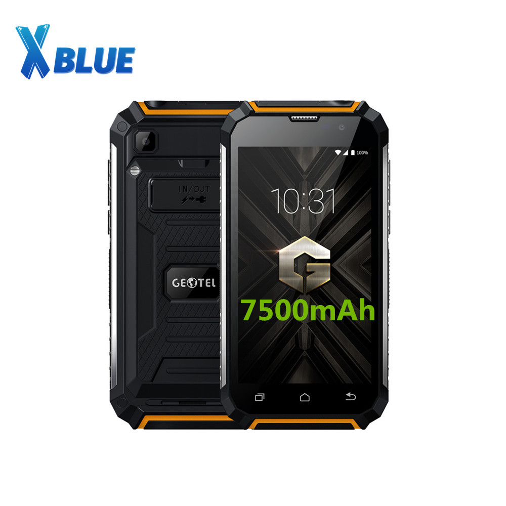 Original Geotel G1 Smartphone 3G WCDMA MTK6580A QUAD CORE 2GB RAM 16GB ROM Android 7 0