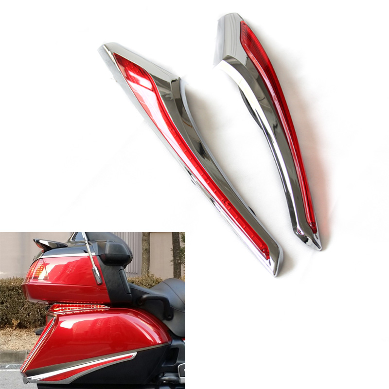 Hot sell Motorcycle Saddlebag Accent Swoop LED Light Fit Turn Signal Lights For Honda Gold wing GL1800 & F6B 2012-2015 велосипед tern swoop d7i 2013