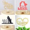 Tema de la boda de la magdalena torta de la torta de hornear banderas decoración suministros de la boda celebración día festival fiesta de navidad