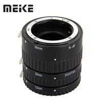 Meike foco automático metal af macro extensão tubo para nikon d7100 d7000 d5100 d5300 d3100 d800 d750 d600 d90 d80 dslr câmera tube set tube tv sets d750 -