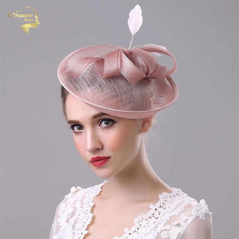 New Wedding Hats For Women Vintage Net Bridal Hats Wedding Accessorie Brides Fascinator Wedding Birdcage Veil Face Veils BH010