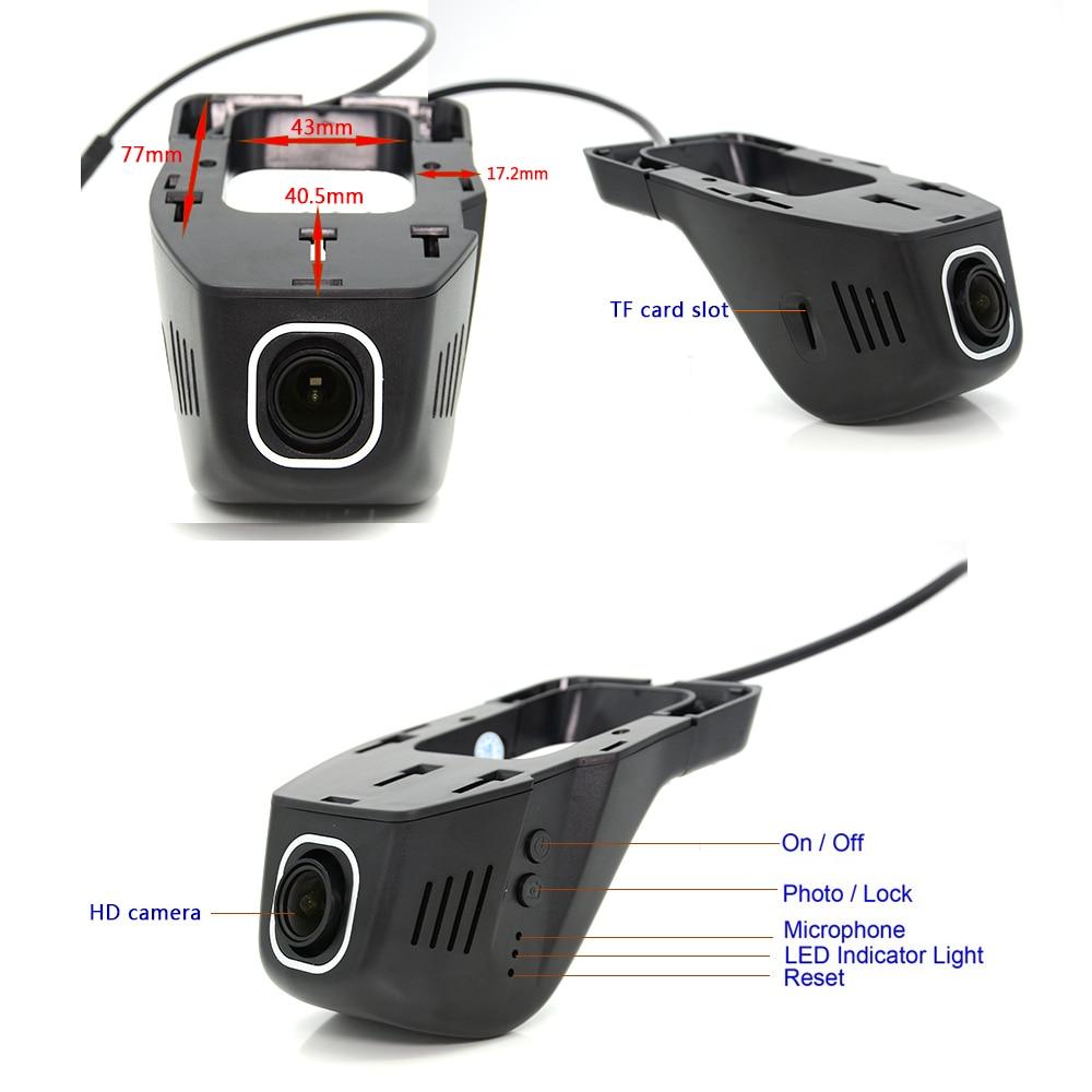 Aliexpress com buy junsun car dvr camera video recorder wifi app novatek 96655 imx 322 dvr fhd 1080p registrator night vision dash cam from reliable dvr