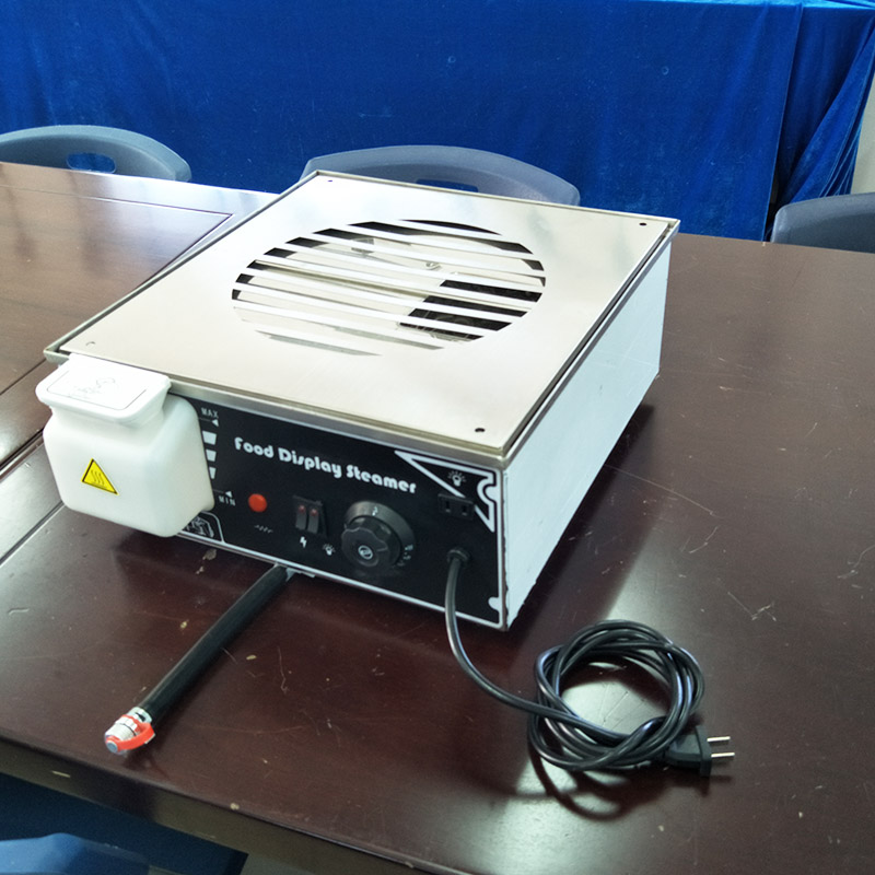 KW-500D  portable food warmer machine bun steamer cooker stainless steel food heater for sales gametrix kw 901