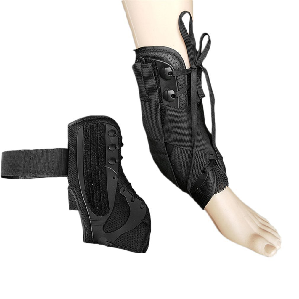 Ankle Fracture Fixing Straps Durable Ankle Brace Support Adjustable Foot Orthosis Stabilizer Lace Up Ankle Protecting Device