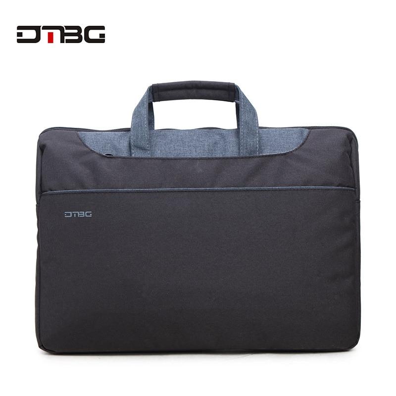 DTBG 15.6 Laptop Handbag Unisex Business Shoulder Bags Waterproof Large Capacity Work Tote Classic Mochila Computer Mac Book Bag