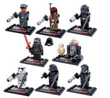 D867 New Star Wars minifigure Kylo Ren BB-8 R5-D4 Classic figures Collection Children Gift toys Building Blocks