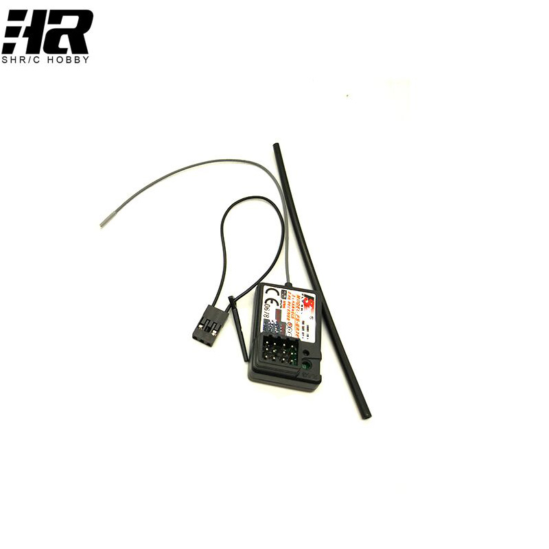 Flysky FS-GR3E 3 Channel 2.4G GR3E Receiver with Failsafe GT3B GR3C Upgrade for RC Car Truck Boat GT3 GT2 Transmitter FS